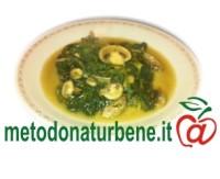 spinaci_con_funghetti_in_guazzetto